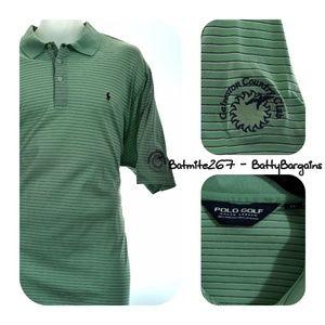 POLO PONY Ralph Lauren XL Mens S/S Shirt GALVESTON